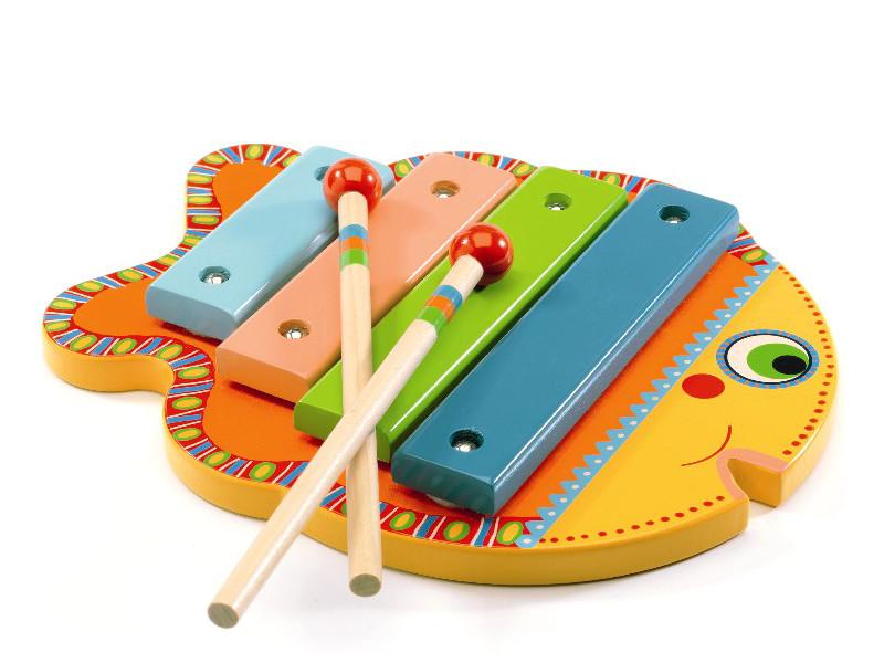цена на Детский музыкальный инструмент Djeco Ксилофон 06001