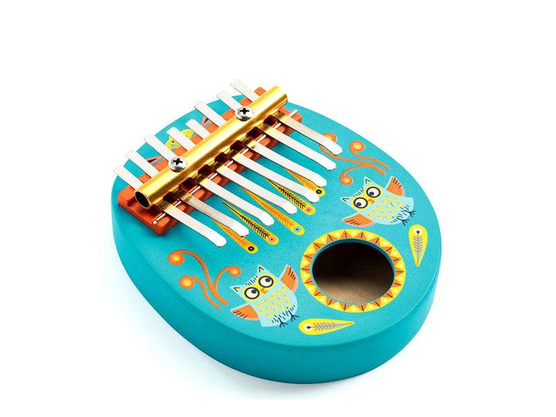 Детский музыкальный инструмент Djeco Калимба 06019 недорго, оригинальная цена