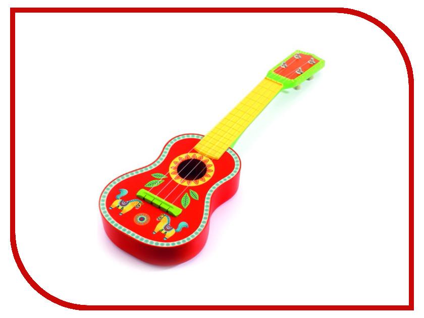 Детский музыкальный инструмент Djeco Гитара 06013 детский музыкальный инструмент china bright музыкальные инструменты 1492649
