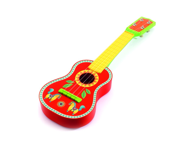 Детский музыкальный инструмент Djeco Гитара 06013 недорго, оригинальная цена