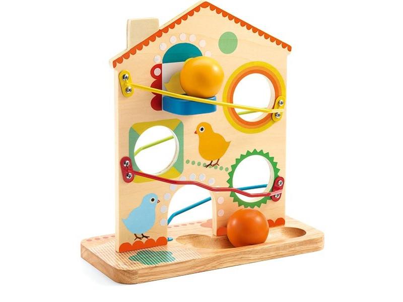 Развивающая игрушка Djeco Кугельбан Рулату 06308