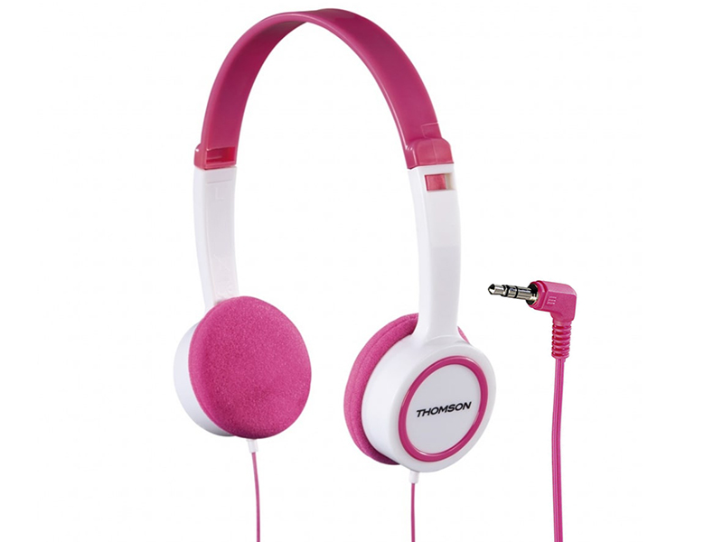 Наушники Thomson HED1105 White-Pink