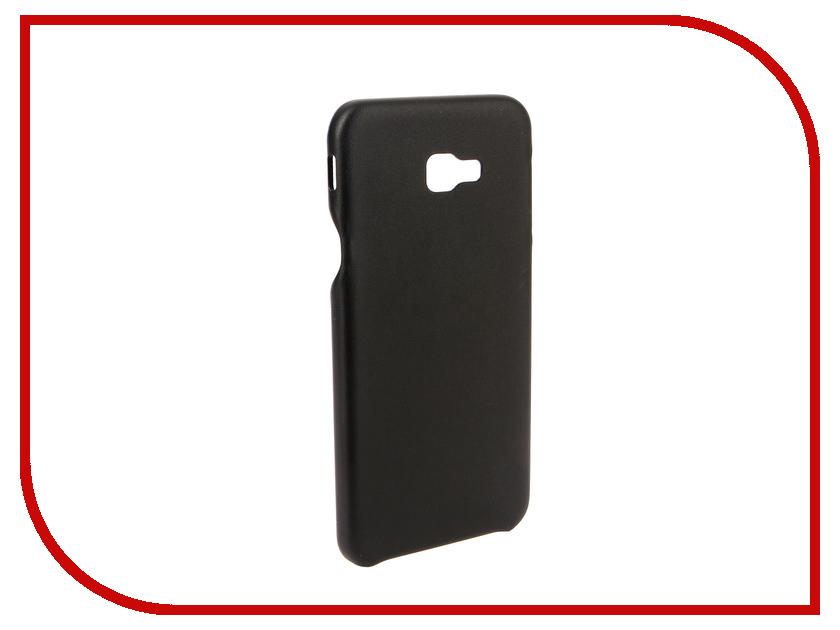 Аксессуар Чехол для Samsung Galaxy J4 Plus 2018 G-Case Slim Premium Black GG-993 аксессуар чехол для meizu 15 plus g case slim premium black gg 963