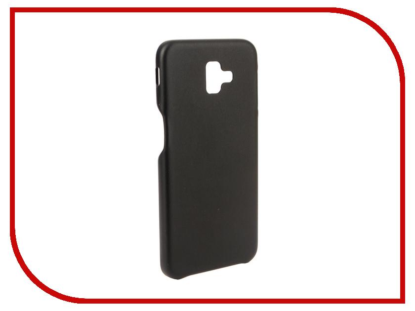 Аксессуар Чехол для Samsung Galaxy J6 Plus 2018 G-Case Slim Premium Black GG-994 аксессуар чехол для meizu 15 plus g case slim premium black gg 963