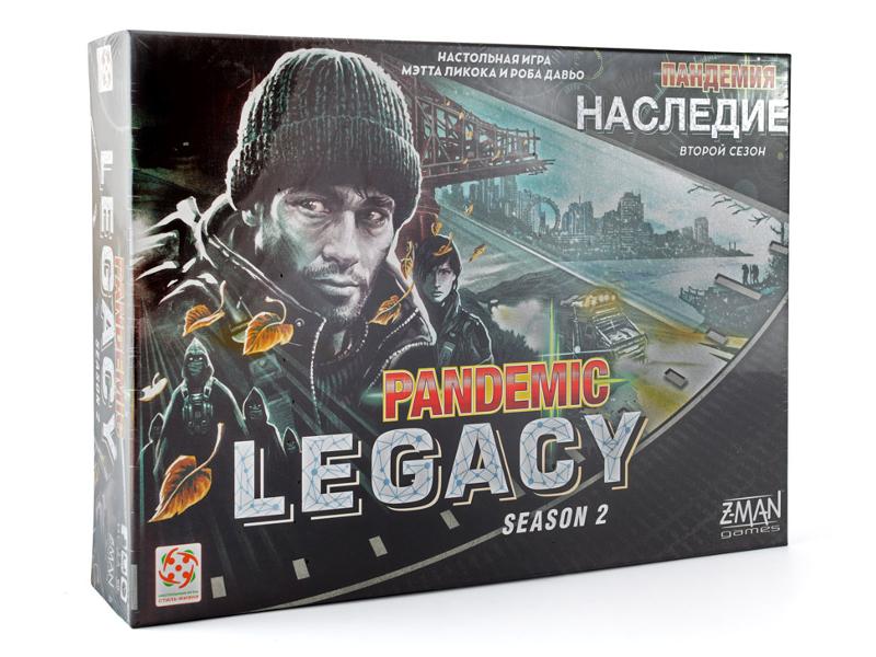 Настольная игра Стиль жизни Пандемия Наследие 2 Black БП-00001479