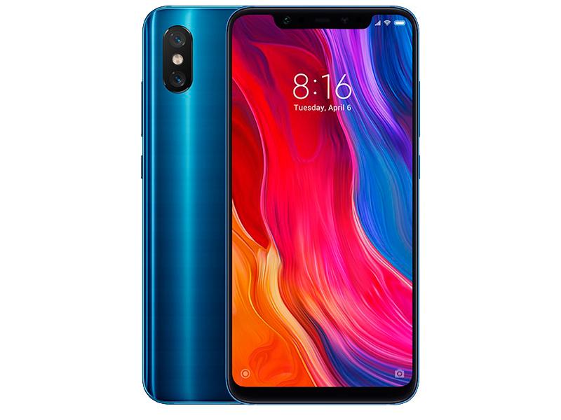 Сотовый телефон Xiaomi Mi8 6/128GB Blue цена и фото