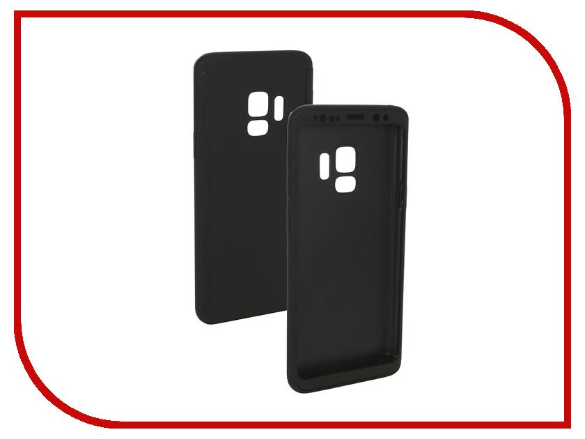Аксессуар Чехол для Samsung Galaxy S9 ZNP 360 Degree Black miniisw bd b solar powered 360 degree rotary display base black