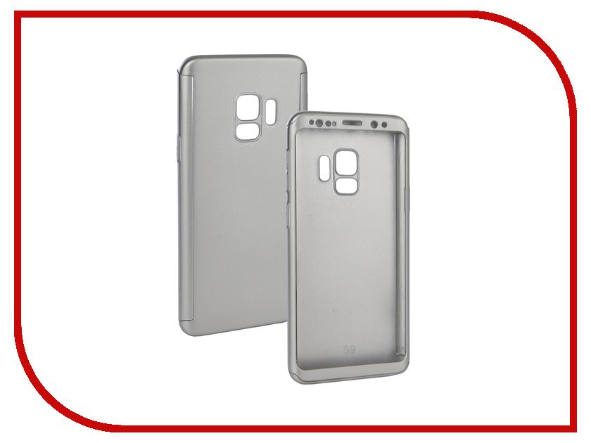 Аксессуар Чехол для Samsung Galaxy S9 ZNP 360 Degree Silver 360 degree rotation pu leather case cover stand for samsung galaxy tab pro 10 1 t520 black