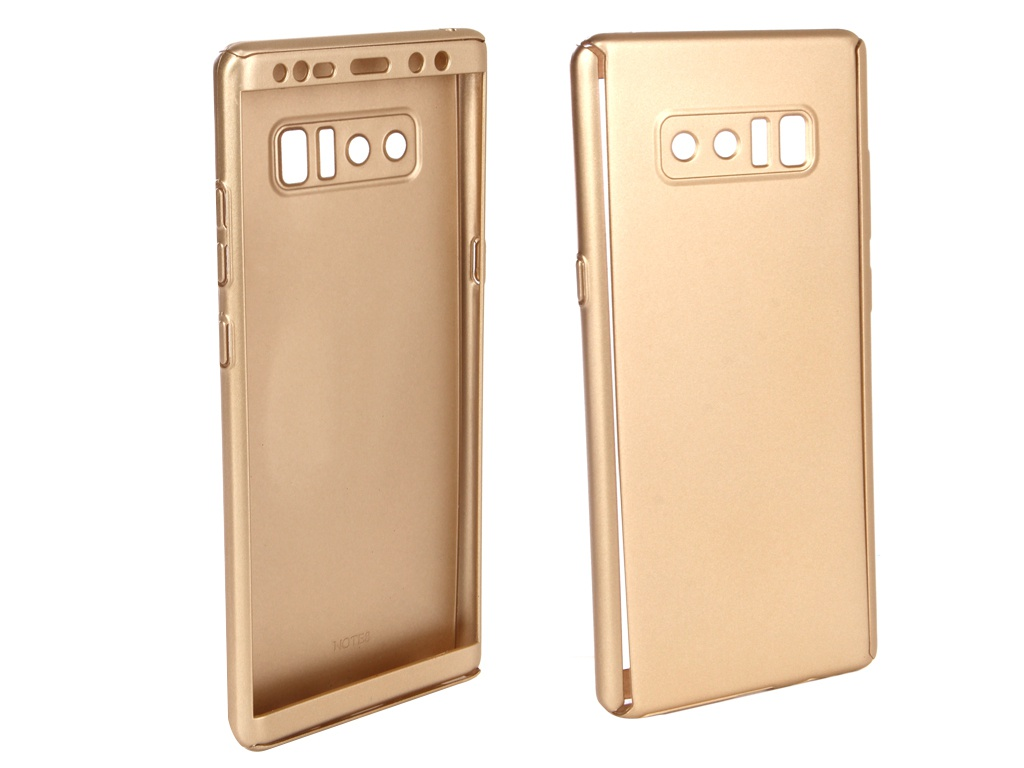 Аксессуар Чехол ZNP для Samsung Galaxy Note 8 360 Degree Gold стилус other apple ipad samsung galaxy s3 i9300 21 eg0628