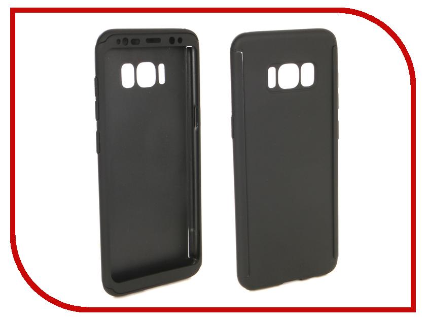 Аксессуар Чехол для Samsung Galaxy S8 ZNP 360 Degree Black аксессуар чехол samsung galaxy s8 celly air case black air690bkcp