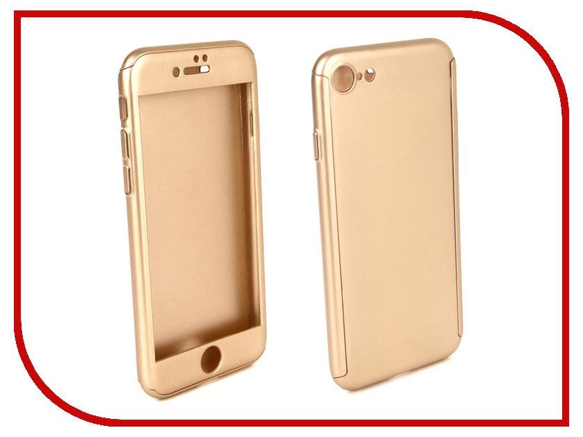 Аксессуар Чехол для APPLE iPhone 8 ZNP 360 Degree Gold аксессуар чехол innovation jeans для apple iphone 7 8 white 10774