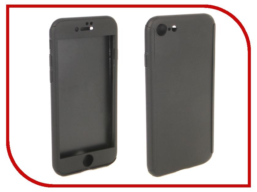 Аксессуар Чехол для APPLE iPhone 8 ZNP 360 Degree Black аксессуар чехол innovation jeans для apple iphone 7 8 white 10774