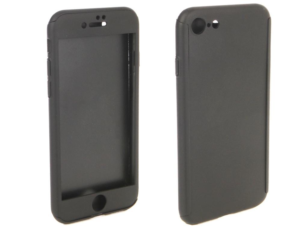 Аксессуар Чехол ZNP для APPLE iPhone 8 360 Degree Black аксессуар чехол znp для samsung galaxy s8 360 degree pink