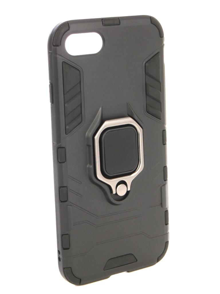 Аксессуар Чехол ZNP для APPLE iPhone 8 Black аксессуар чехол znp для apple iphone 8 blue