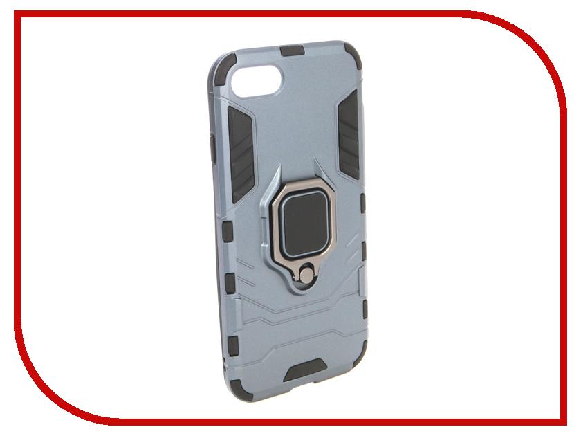 Аксессуар Чехол для APPLE iPhone 8 ZNP Blue аксессуар чехол innovation jeans для apple iphone 7 8 white 10774