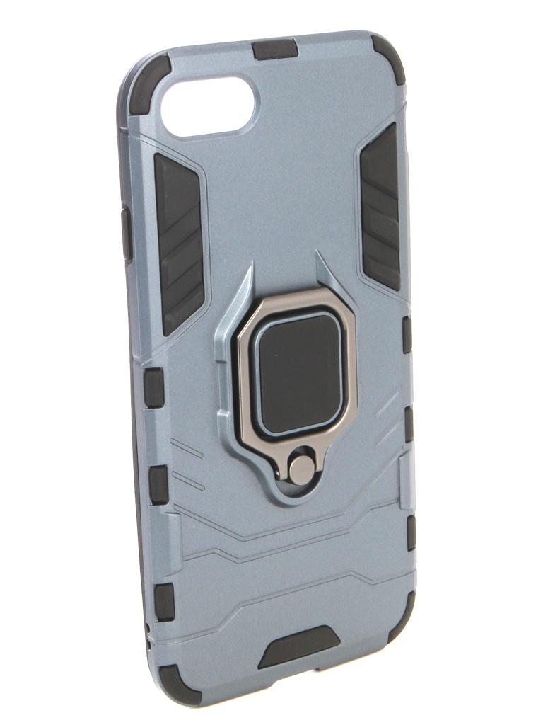 Аксессуар Чехол ZNP для APPLE iPhone 8 Blue аксессуар чехол znp для apple iphone 8 blue