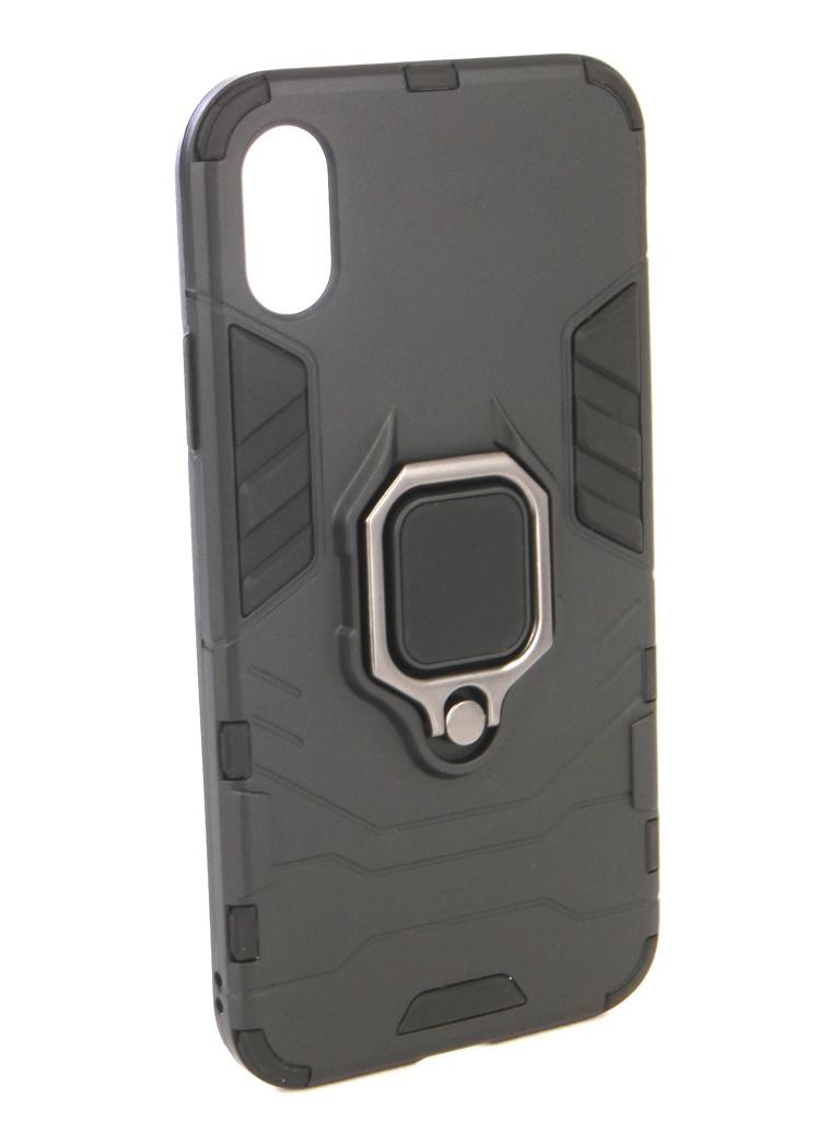 Аксессуар Чехол ZNP для APPLE iPhone X Black аксессуар чехол znp для apple iphone 8 blue