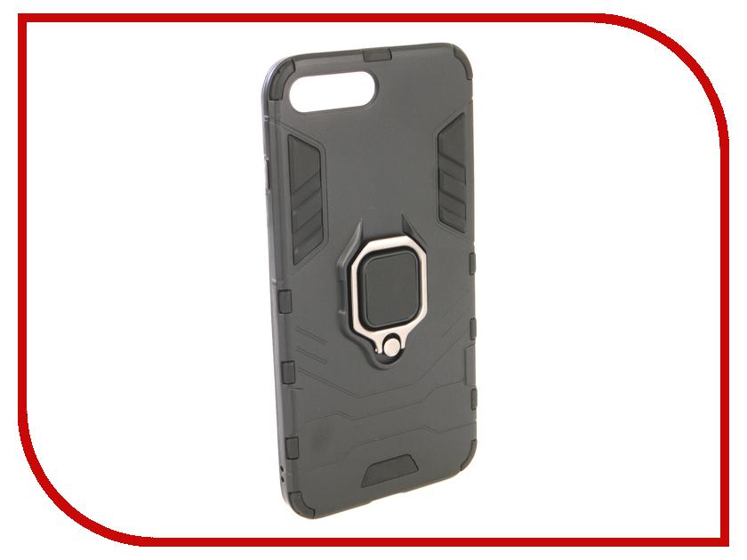 Аксессуар Чехол для APPLE iPhone 8 Plus ZNP Black аксессуар чехол neypo soft touch для apple iphone 8 plus 7 plus gold st3341