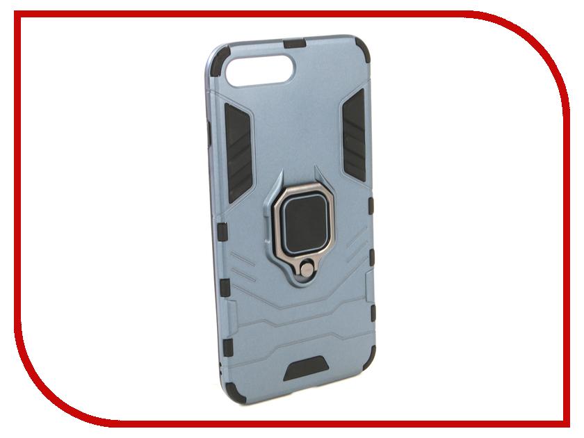 Аксессуар Чехол для APPLE iPhone 8 Plus ZNP Blue аксессуар чехол neypo soft touch для apple iphone 8 plus 7 plus gold st3341