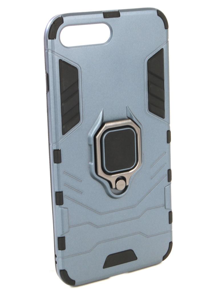 Аксессуар Чехол ZNP для APPLE iPhone 8 Plus Blue аксессуар чехол ipapai для iphone 6 plus ассорти морской