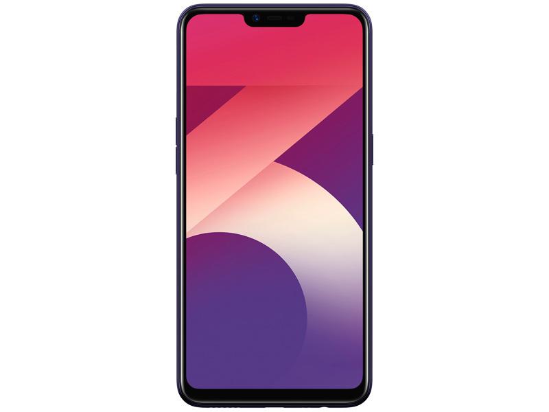Сотовый телефон OPPO A3s Black-Purple