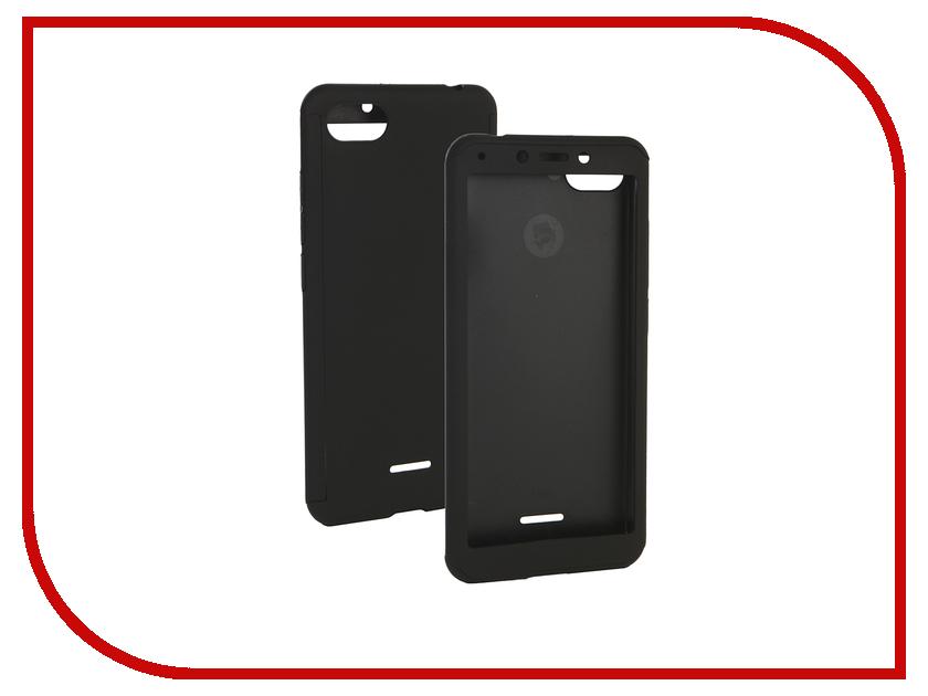 Аксессуар Чехол для Xiaomi Redmi 6A ZNP 360 Degree Black