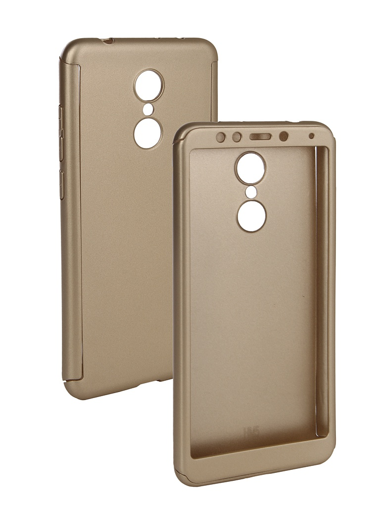 Аксессуар Чехол ZNP для Xiaomi Redmi 5 360 Degree Gold