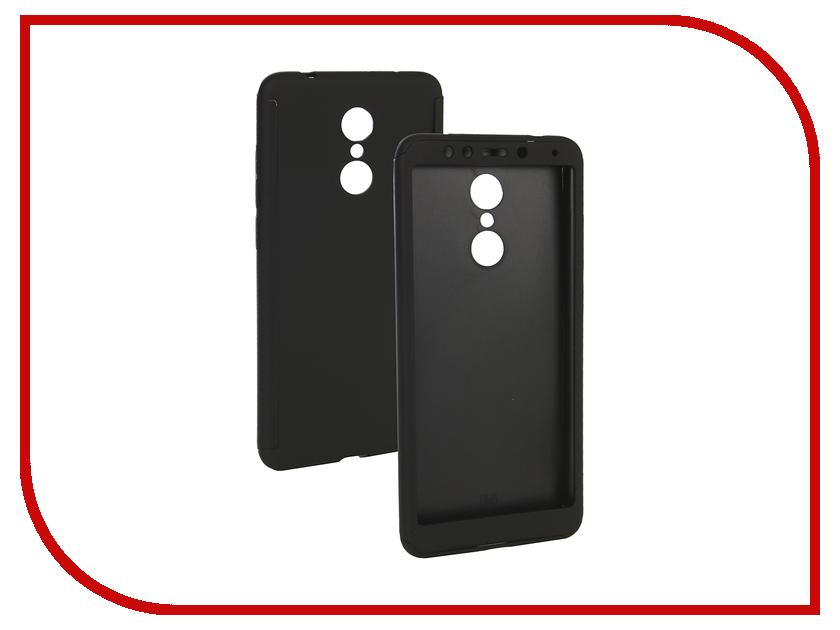 цена Аксессуар Чехол для Xiaomi Redmi 5 ZNP 360 Degree Black