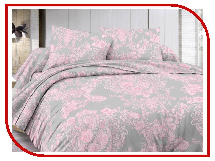 Постельное белье Amore Mio BZ Plush Комплект 2 спальный Grey 6485