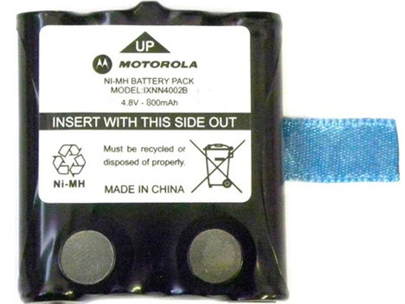Аккумулятор Motorola 800mAh для TLKR радиостанция motorola tlkr t80ext комплект из двух радиостанций mt125