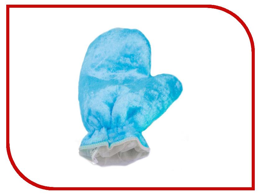 Варежкa для мытья посуды и уборки Bradex Light Blue TK 0201 органайзер для мытья посуды bradex caddy sink tidy