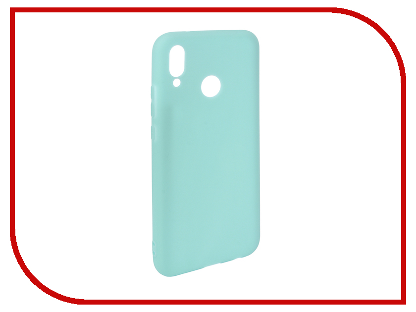 Аксессуар Чехол для Huawei P20 Lite Pero Soft Touch Turquoise PRSTC-P20LC аксессуар чехол для huawei honor p20 lite caseguru soft touch 0 5mm black 103349