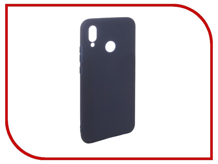 Аксессуар Чехол для Huawei P20 Lite Pero Soft Touch Blue PRSTC-P20LBL аксессуар чехол для huawei p20 lite pero soft touch black prstc p20lb
