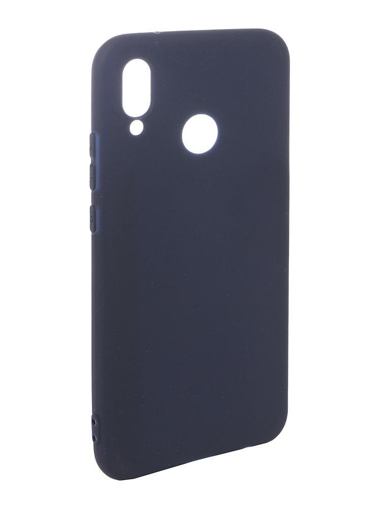 Аксессуар Чехол Pero для Huawei P20 Lite Soft Touch Blue PRSTC-P20LBL аксессуар чехол для apple iphone xs max pero soft touch blue prstc ixsmbl