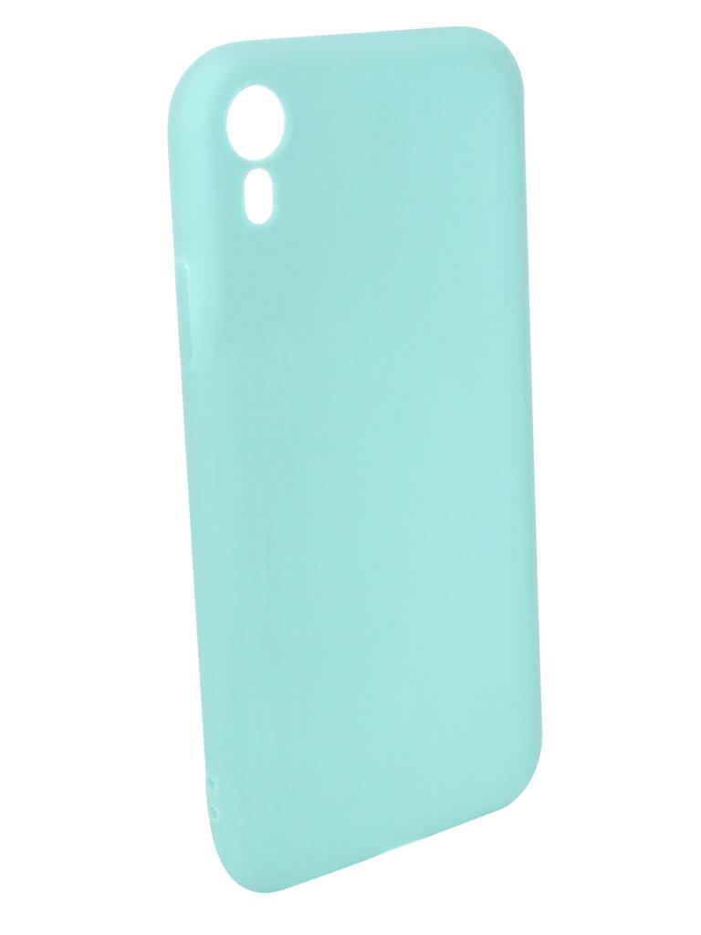 Аксессуар Чехол Pero для APPLE iPhone XR Soft Touch Turquoise PRSTC-IXRC аксессуар чехол для apple iphone x pero soft touch turquoise prstc ixc