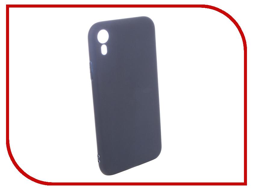 Аксессуар Чехол для APPLE iPhone XR Pero Soft Touch Blue PRSTC-IXRBL аксессуар чехол pero для apple iphone 5 5s se pero black prstc i5b