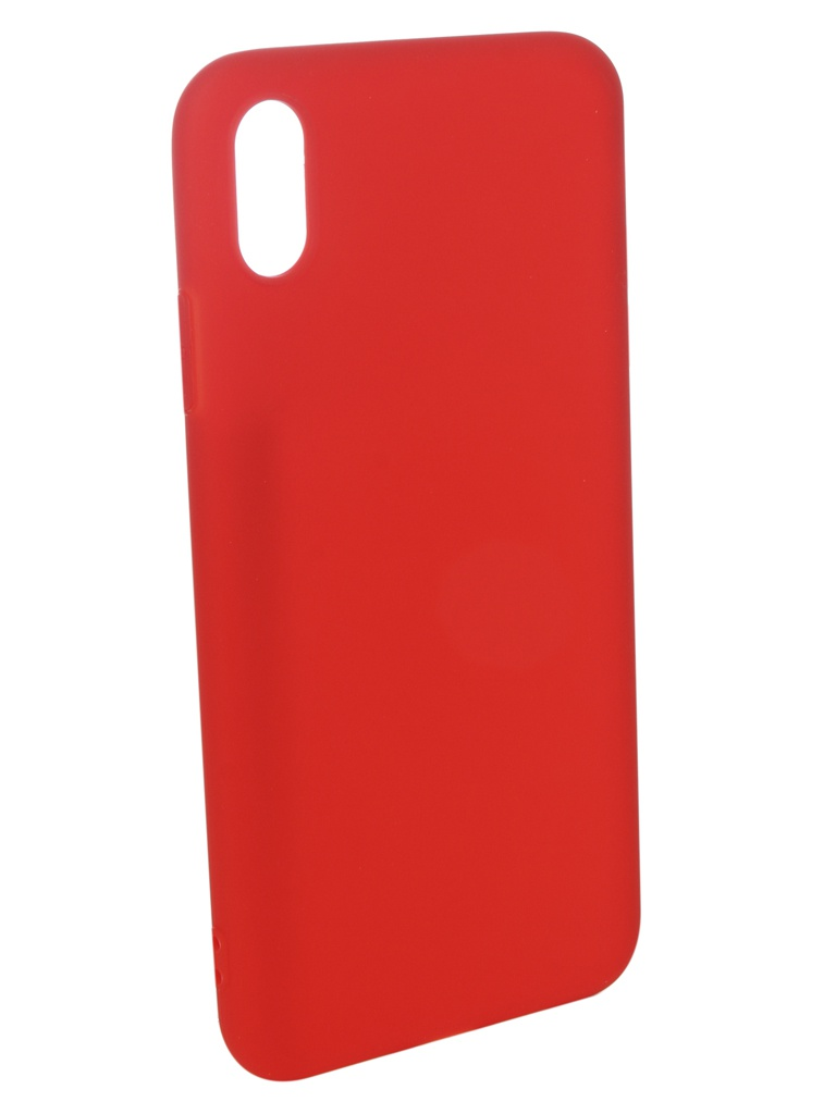 Аксессуар Чехол Pero для APPLE iPhone XS Max Soft Touch Red PRSTC-IXSMR аксессуар чехол для apple iphone x pero soft touch turquoise prstc ixc