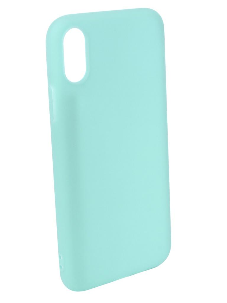 Аксессуар Чехол Pero для APPLE iPhone XS Soft Touch Turquoise PRSTC-IXSC аксессуар чехол для apple iphone x pero soft touch turquoise prstc ixc