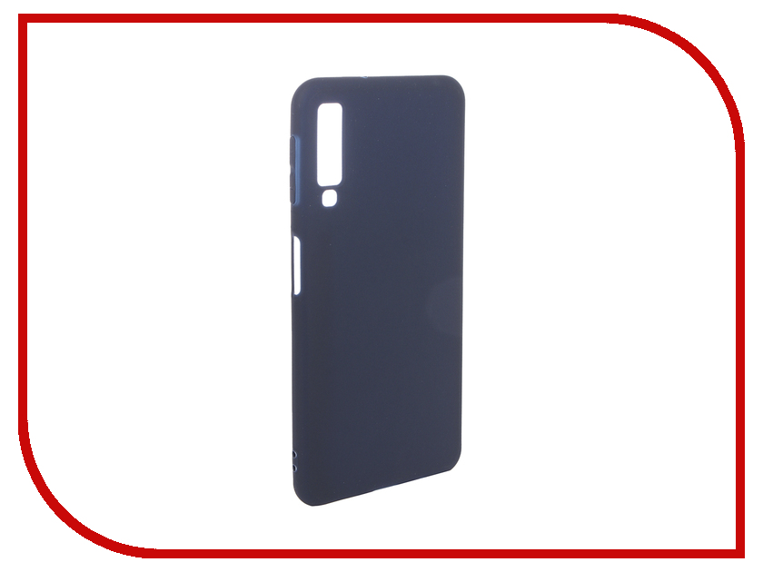 Аксессуар Чехол для Samsung Galaxy A7 2018 Pero Soft Touch Blue PRSTC-A718BL аксессуар чехол для xiaomi mi max 2 pero soft touch black prstc mmax21b