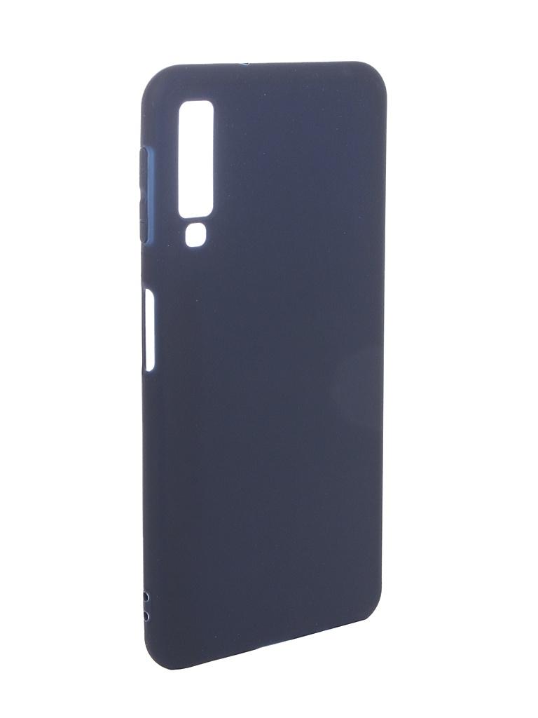 Аксессуар Чехол Pero для Samsung Galaxy A7 2018 Soft Touch Blue PRSTC-A718BL аксессуар чехол для samsung galaxy s8 plus pero soft touch black prstc s8pb