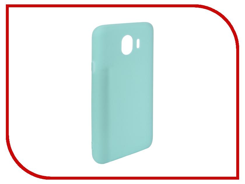 Аксессуар Чехол для Samsung Galaxy J4 2018 Pero Soft Touch Turquoise PRSTC-J418C цена и фото