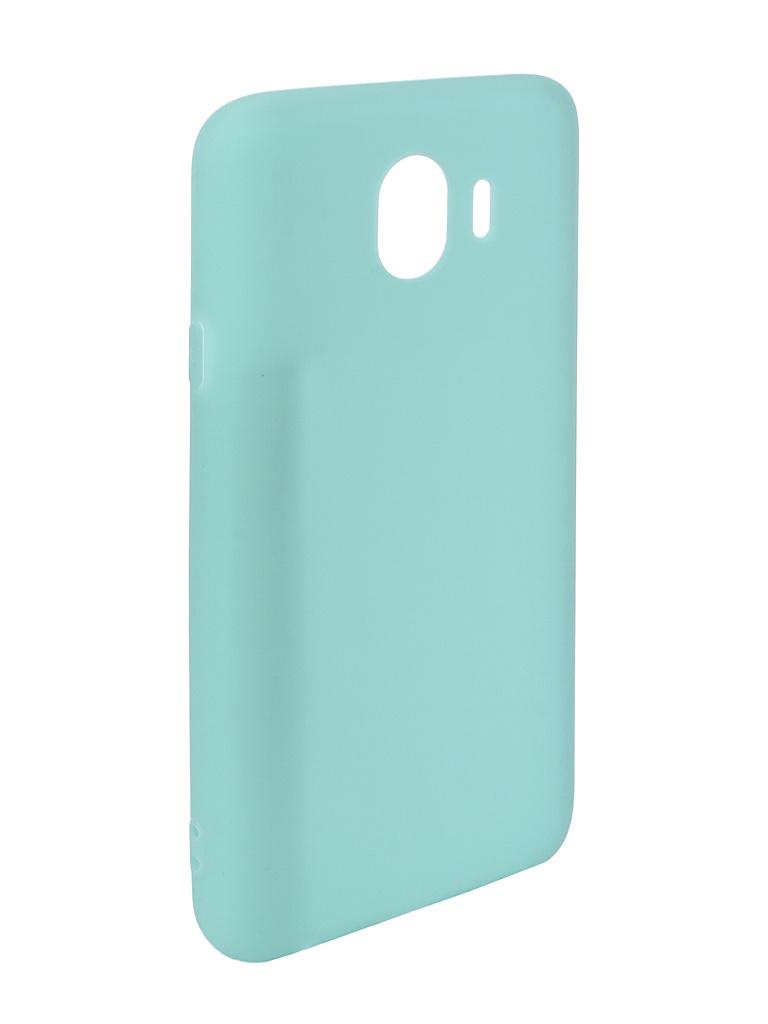 Аксессуар Чехол Pero для Samsung Galaxy J4 2018 Soft Touch Turquoise PRSTC-J418C аксессуар чехол для samsung galaxy j8 2018 pero soft touch red prstc j818r