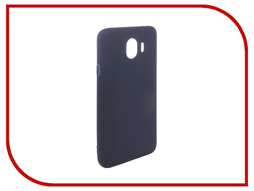 Аксессуар Чехол для Samsung Galaxy J4 2018 Pero Soft Touch Blue PRSTC-J418BL цена и фото