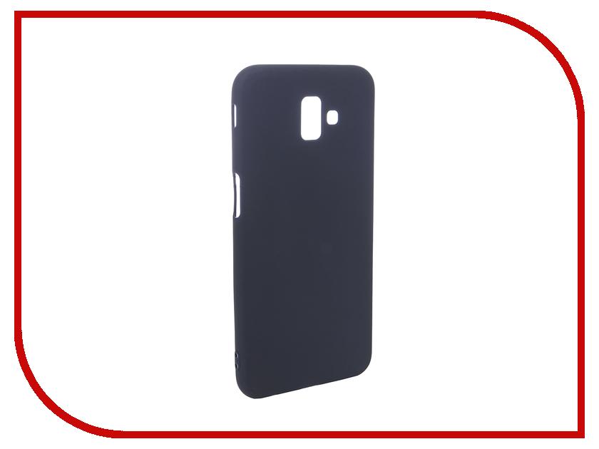Аксессуар Чехол для Samsung Galaxy J6 Plus 2018 Pero Soft Touch Blue PRSTC-J618PBL цена и фото