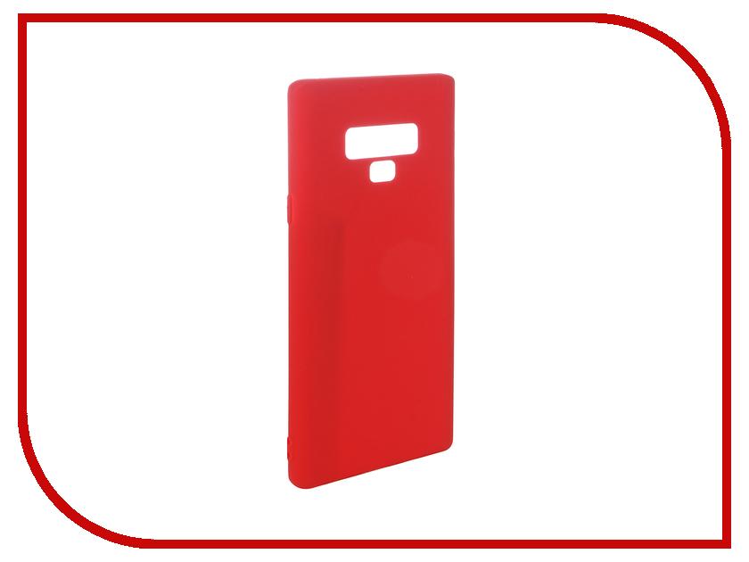 Аксессуар Чехол для Samsung Galaxy Note 9 Pero Soft Touch Red PRSTC-N9R аксессуар чехол для xiaomi redmi note 5 pro pero soft touch black prstc rn5pb