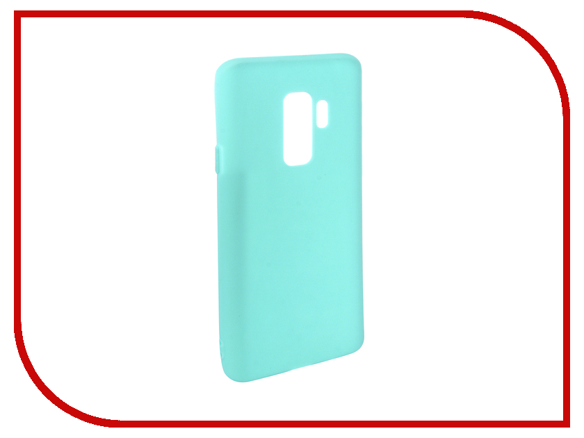 Аксессуар Чехол для Samsung Galaxy S9 Plus Pero Soft Touch Turquoise PRSTC-S9PC аксессуар чехол для xiaomi redmi note 5 pro pero soft touch black prstc rn5pb