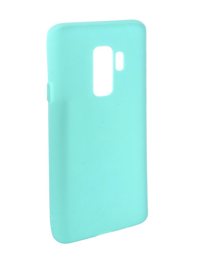 Аксессуар Чехол Pero для Samsung Galaxy S9 Plus Soft Touch Turquoise PRSTC-S9PC