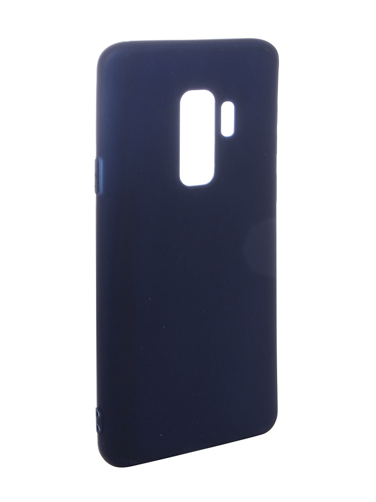 Фото - Аксессуар Чехол Pero для Samsung Galaxy S9 Plus Soft Touch Blue PRSTC-S9PBL аксессуар чехол для samsung galaxy a7 2018 pero soft touch red prstc a718r