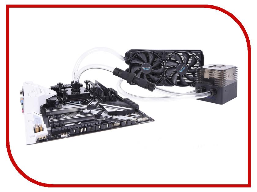 Водяное охлаждение Alphacool Eissturm Gaming Copper 30 2x 120 mm водяное охлаждение evga 400 hy cl24 v1