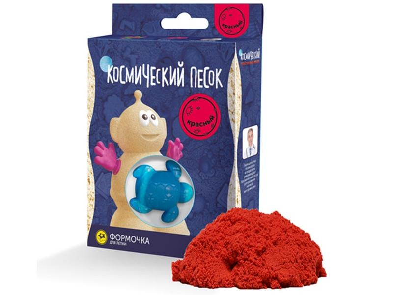 Набор для лепки Космический песок 150гр Red KP015R